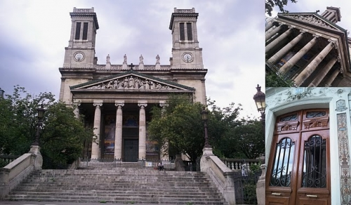 je m'entraîne déjà,10ème arrondissement,faubourg saint-denis,rue de paradis,église saint vincent de paul