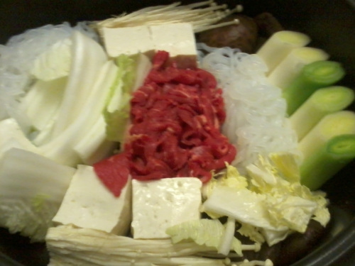 sukiyaki, japon