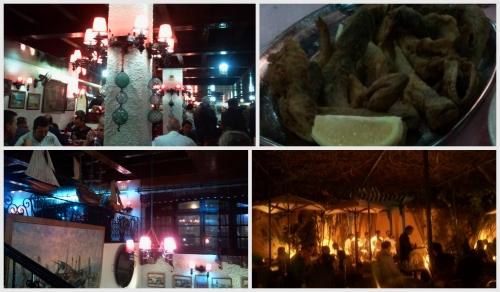 casablanca, restaurant du port de pêche, la sqala